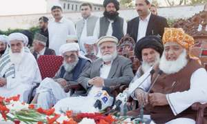 Fazl claims army defeated militants with JUI-F support