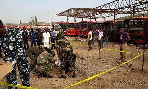 At least 50 dead in Nigeria mosque bombing during early morning prayers: police