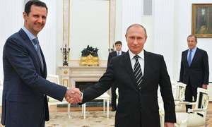 Russia about to end military operation in Syria, Putin tells Assad