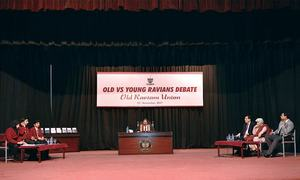 Old Ravians beat youngsters in debate contest