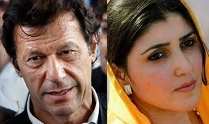 عمران خان کی عائشہ گلالئی کی معطلی کیلئےسپریم کورٹ میں درخواست