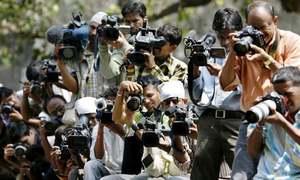 رپورٹر اور کیمرامین 'خوار' نہیں 'تاریخ کے عینی شاہد' ہیں
