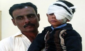 Minor student loses eyesight due to alleged torture by principal in Tando Bago