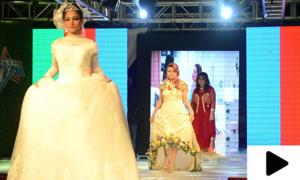 کم قیمت عروسی ملبوسات کی نمائش