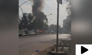 پشاور دھماکا: ایڈیشنل آئی جاں بحق اور 6 سیکیورٹی اہلکار زخمی