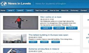 Website review: News in levels