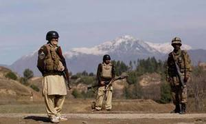 One soldier martyred, another injured in Mohmand landmine explosion