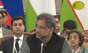 At SCO meeting, PM Abbasi calls for keeping politics out of regional trade