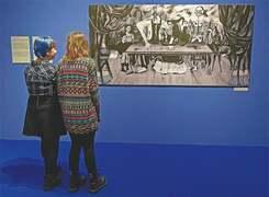 Art exhibition turns spotlight on missing Frida Kahlo painting