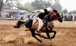 Jousting for support, Pakistan's bid to keep cavalry sport alive