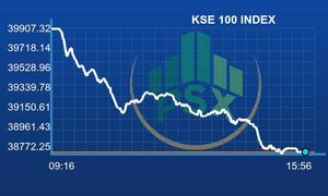 Bloodbath at PSX as benchmark index loses 1,123 points