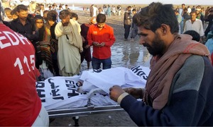 Boat capsizes in creek near Thatta; 21 bodies recovered, several still missing