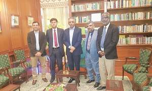 Sindh governor extends support to PDCA