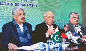 Sartaj Aziz says no hurdle in Fata's merger with KP