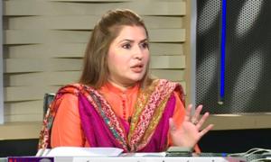 دھرنےکوفنڈنگ کرنے والا قائمہ کمیٹی کی صدارت نہیں کرسکتا:شازیہ مری