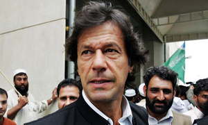 Will decide Zardari's fate with the people of Sindh: Imran Khan