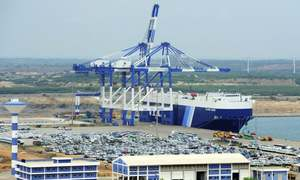 Sri Lanka hands over debt-laden port to Chinese owner
