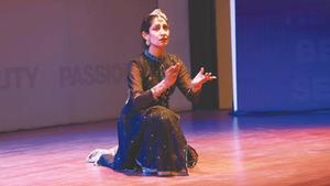 Kathak dancer Farah Sheikh gives captivating performance on Mughal Empress Nur Jahan's life