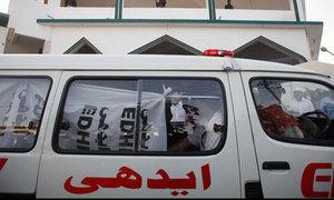 جیکب آباد:ٹریفک حادثے میں ایک ہی خاندان کے 4 افراد جاں بحق