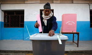 Communist parties win majority in Nepal vote
