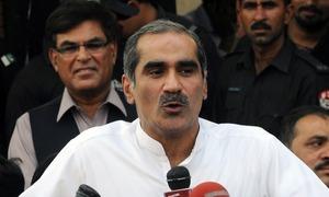 سابق سیکیورٹی آفیسر کی مدت میں توسیع سے انکار پر ہمیں نشانہ بنایا گیا، سعد رفیق