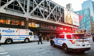 NYC police report blast near Times Square, four injured