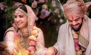 انتظار ختم: انوشکا شرما اور ویرات کوہلی نے شادی کرلی