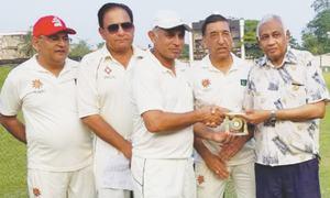 Pakistan veterans complete unbeaten tour of Sri Lanka