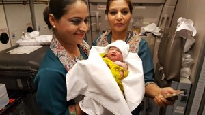 PIA delivers for the first time - and it's a girl!