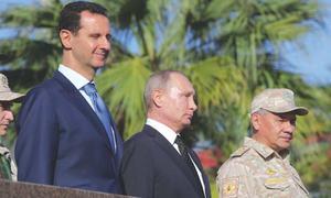 روسی وزیراعظم کا شام سے جزوی طور پر اپنی فوج واپس بلانے کا اعلان