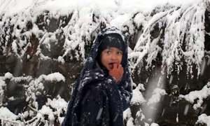 شانگلہ، مری، کشمیر، گلگت بلتستان میں موسم کی پہلی برف باری