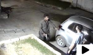 کراچی میں اسلحہ کے زور پر نوجوان سے لوٹ مار