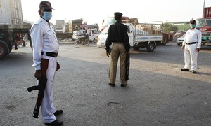Traffic police official injured in firing in Karachi's Liaquatabad