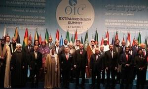 او آئی سی اجلاس: مقبوضہ بیت المقدس سے متعلق امریکی فیصلہ مسترد