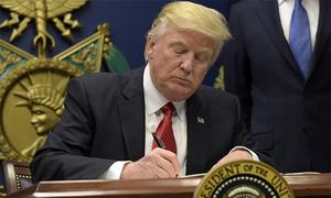 Trump signs bill that includes $700m reimbursement for Pakistan