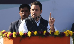 Rahul Gandhi takes over India's opposition Congress party