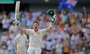England Ashes hopes fade as Smith and Marsh put attack to sword in 3rd Test