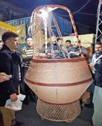Replica kangri established on Muzzaffarabad food street
