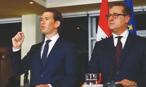 New Austrian govt pledges pro-EU approach