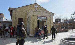 9 killed in suicide attack on Quetta's Bethel Memorial Methodist Church
