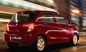 Pak Suzuki introduces Cultus with auto gear shift, launches new fleet