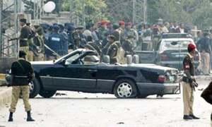 Who attacked Musharraf?