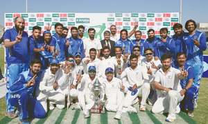 Samiullah rolls over Wapda as SNGPL clinch Quaid Trophy title