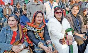 Two functions held at Benazir's assassination site