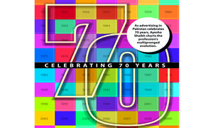 Celebrating 70 years of advertising