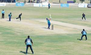 Shan's century sets up comfortable win for UBL