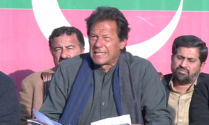 Imran levels fresh allegations against Sharifs after 'uncovering new evidence'