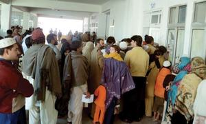 Patients need to show identity cards for treatment at LRH OPD