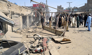 3 security officials among 8 injured in twin Chaman blasts