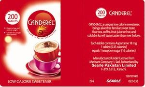 Fancy a spoonful of Canderel?